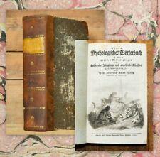 1793 Speck von Sternburg Nitsch Neues Mythologisches Wörterbuch EA