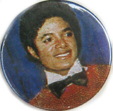 "MICHAEL JACKSON Badge 80's Black Bow Tie Vintage UK 1"" Button Bage 1 Only Wallet"