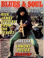 Rick James Blues & Soul Issue 335 1981 Aretha Franklin Lamont Dozier Side Effect