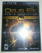 Deus Ex Human Revolution Augmented Edition Sony Playstation 3 2011 Square Enix