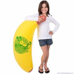 "48"" Inch Giant Inflatable Banana Inflate -  Blow Up Luau Swim Pool Beach Noodle"