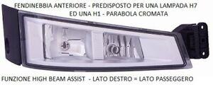FARO FENDINEBBIA ANTERIORE DESTRO 68581 VOLVO TRUCK  FH16 DAL 07/2013 P.CROMATA