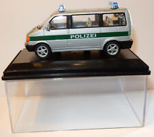 CARARAMA HONGWELL FOURGON VW TRANSPORTER T4 POLIZEI POLICE STUTTGART 1/43 IN BOX