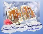 Nanos Kerzen und Hochzeitsgläser