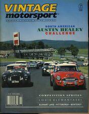 Vintage Motorsport Magazine November/December 1990 Austin Healey Challenge