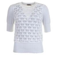 BAUM UND PFERDGARTEN Top Bright White Cotton Corowa RRP £119 SE