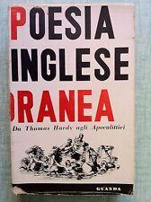 Poesia inglese contemporanea di Carlo Izzi Ed. Guanda 1957