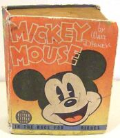 Mickey Mouse in the Race for Riches  by Walt Disney   Better Little Book  1938