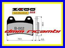 Pastiglie freno anteriori Racing ZCOO EX APRILIA RS 250 98>99 1998 1999 DID