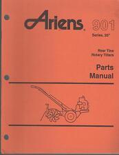 "9/1994 ARIENS 901 SERIES 20""  ROCKET REAR TINE TILLER PARTS MANUAL P/N 0015600"