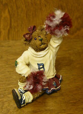 Boyds Bearstones #228410 Sissy Boom Bah,  New/box From Retail Store, Cheerleader