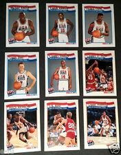 1992 Hoops USA Basketball Dream Team 34 Card Set Michael Jordan Magic Bird Ewing