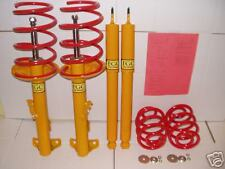 4 LOWERING SPRINGS  + 4 SHOCKS BMW E36 4 CYL.COMPACT