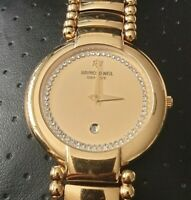 Raymond Weil Geneve 18k Gold Electroplated, sapphire Crystal.Ladies#LQ14