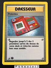 Carte Pokemon POKEDEX 87/102 Set de Base Wizard Edition 1 FR NEUF
