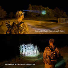 Flash Light Head Light Adjustable Lens Heavy-duty CREE LED LG Lithium Battery