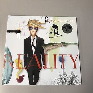 David Bowie Reallity limited edition blue vinyl LP in foldout sleeve new/damaged