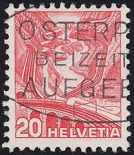 Schweiz Mi.Nr. 301 zl DP III gestempelt geprüft BPP Mi.Wert 140€ (6534)