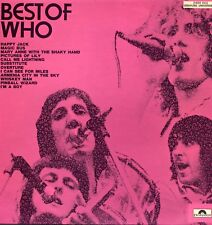 "THE WHO ""BEST OF THE WHO"" ORIG FR 1972 VG++/VG++ LATER PRESS"