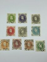 Denmark Scott 210-219 complete set 75% Off Sale With Free US Shipping