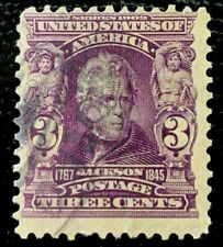 1903 US Stamps SC#302 3c Jackson Used