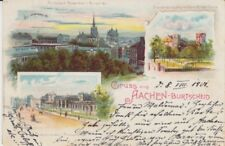Ansichtskarte Nordrhein - Westfalen  Aachen - Burtscheid  1901