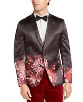 MSRP $150 Inc Men's Slim-Fit Floral Blazer Size Large