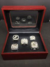 5pcs/set San Antonio Spurs Championship Rings Size 11 In Box Collections