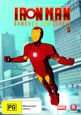 Iron Man: Armored Adventures - Volume 5 * NEW DVD * (Region 4 Australia)