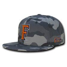 efb369fbf9c NCAA CSU Fullerton Cal State University Titans Camo Camouflage Snapback Caps