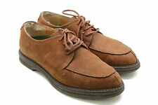 Timberland Womens Brown Suede Waterproof Lace Up Oxford Shoes Made Italy Size 6