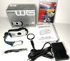 PERFECT Ricoh WG WG-20 14.0MP Digital Camera - White - IN BOX-Waterproof-Sport!