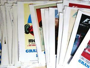 Sticker A4 GRANDS PRIX FORMULE 1 MONACO Monte Carlo Autocollants 24x32 cm F1
