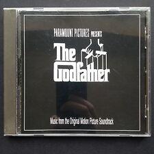 Nino Rota's THE GODFATHER film soundtrack CD 1972 Carmine Coppola Marlon Brando