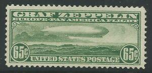 US C13 - 65c GRAF ZEPPELIN - MVLH