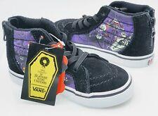 Vans Toddler X Disney Nightmare Before Christmas Jacks Lament SK8-Hi Zip Shoes