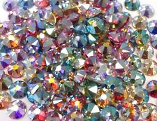 144 SWAROVSKI Crystal Rhinestones FlatBack nail art Color AB MIX 1.9mm 5ss