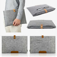 "Felt Laptop Sleeve Bag Notebook Case for Macbook Air Pro 11 12 13"" 15"" Ultrabook"