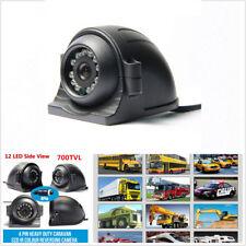 4 Pin Heavy Duty 12-24 V CCD vue latérale Couleur Caméra 12 IR DEL IP68 pour camion bus