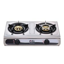NJ NGB-60 Portable Camping Gas Stove 2 burners 60 cm Outdoor Cooker 7.6kW Piezo