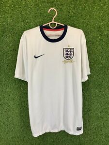 ENGLAND NATIONAL TEAM 2013/2014 FOOTBALL SHIRT JERSEY HOME NIKE ORIGINAL SIZE L