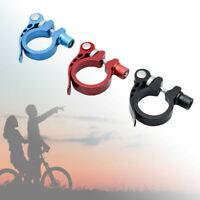 34,9 mm Nuovo Collarino Bici Sella Morsetto  Bloccaggio Reggisella in Alluminio