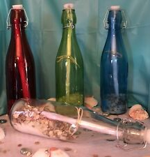 Message In A Bottle Colors! Pick One-We Add Your Message And Decorate!