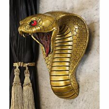 CL5943 - Egyptian Cobra Goddess Wall Sculpture - Ancient Egyptian Decor