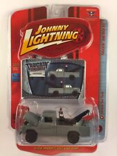 Johnny Lightning Truckin' America 59 1959 Ford Tow Truck Flat Gray Die Cast 1/64