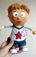 Tickety Tock Talking Tommy Poseable Doll Toy Talks Electronic Just Play Kids
