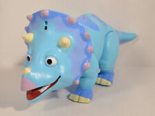 "2010 Talking Tank 12"" Triceratops Learning Curve Action Figure Dinosaur Train"
