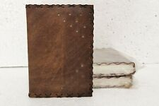 Leather Journal Handmade Vintage Design Diary Blank Notebook Notepad Lot of 3
