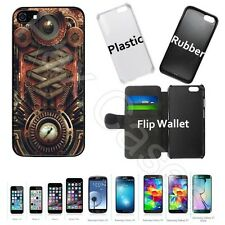 Custom Case for iPhone 5 6 6S 7 7 Plus+Galaxy S6 S7+STYLUS-Steampunk Motherboard