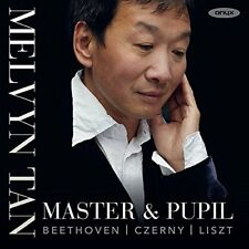 MASTER & PUPIL / MELVYN TAN-WORKS BY BEETHOVEN CZERNY & LISZT  CD NEW